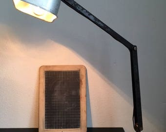 Vintage Industrial Workbench Lamp