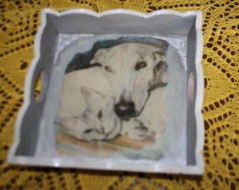 tray wood Greyhound