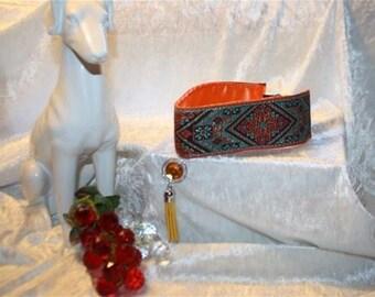 Greyhound chocker necklace
