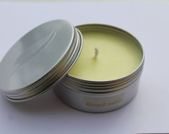 Atmosphere candle Christmas ►Biscuits sables◄ 150mL aluminium Pot