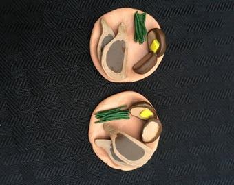 Miniature Porkchop Dinner