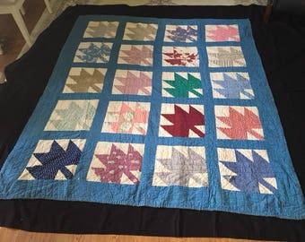 Vintage Maple Leaf Quilt