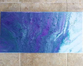"10x20"" Abstract Acrylic Painting"