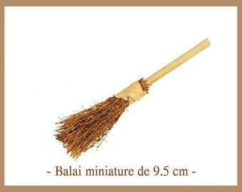 1 small broom 9.5 cm new