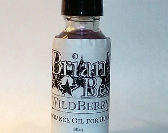 Wildberry Scented Incense or Fragrance Oil Formulated for Burners or Warmers - Premium Grade & Quality!
