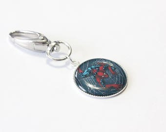 "Keychain grigri ""Spiderman"" superhero #1"