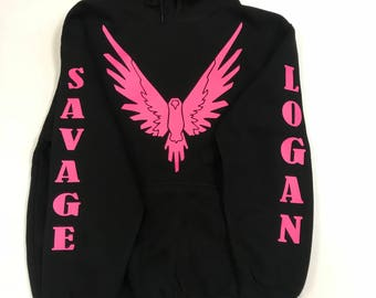 Logan Savage Hoodie/Logan Savage Sweater/Logan Paul Sweater/Logan Paul Hoodie/Logan Paul/Logan Paul Bird/Logan Paul Tee