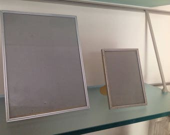 Two silver photo frame-' 40