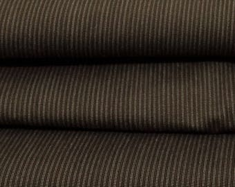 Stretchy Brown striped cotton coupon