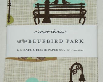 "Patchwork charm pack by moda - ""Bluebird Park""."