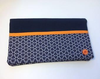 high heel fabric checkbook