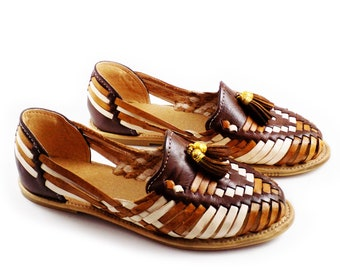 Mexican huaraches  sandals brown