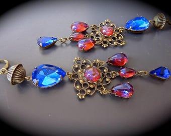 "Earrings ""fairy Baroque: Imperial.."""