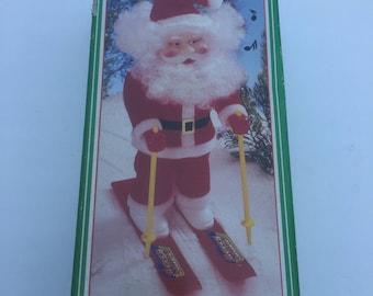 Santa on skis musical
