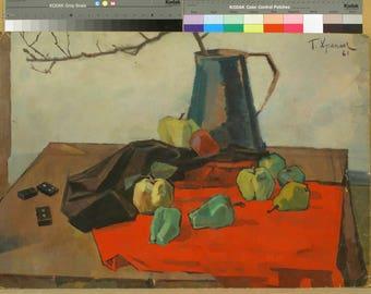 "Georgiy Khrapak ""Still Life"", print on canvas"