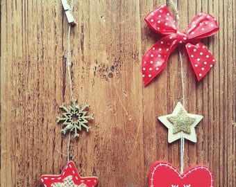 Christmas tree decorations / picture decoration