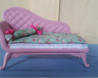 Barbie chaise lounge / upcycled