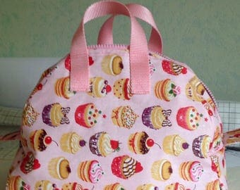Insulated bag for food (lunch bag)