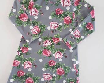 A-line Knit Dresses / Baby / Toddler / Kids / Floral / Baby Clothes / Kids Clothes / Toddler Clothes / Dress up / Baby Girl / Dress
