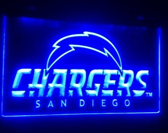 San diego Chargers Acrylic Sign