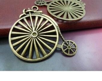 Great old bike metal bronze 1 pendant