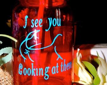 Breast Cancer Awareness and more mason jar glasses