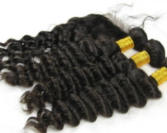 One Full Single Wavy Hair Bundle