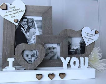 Personalised I Love You Photo Frame Gallery