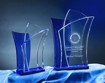 Crystal Alchemy Engraved Recognition Award by Nik Meller
