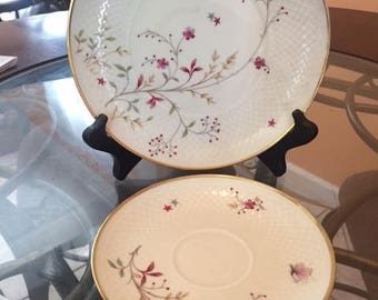 Efchenbach Bravaria saucer and bread and butter plate