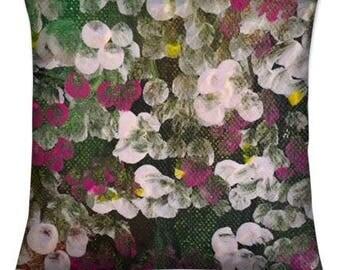 Spring Blossom. Cushion Cover 45 x 45cm