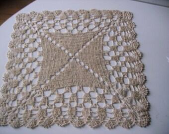 square doily crochet 31 x 31