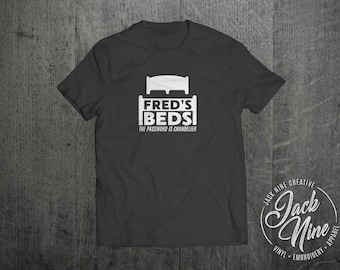 A Good Old Fashioned Orgy (Inspired) - Fred's Beds T-Shirt