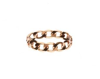 "10k ""Open Star"" Chain Ring"