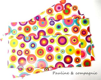 25 pockets printed multicolored gift size 12 x 20 cm
