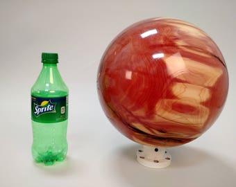 "Sphere - Eastern Red Cedar, Semi Gloss - 10.25"""