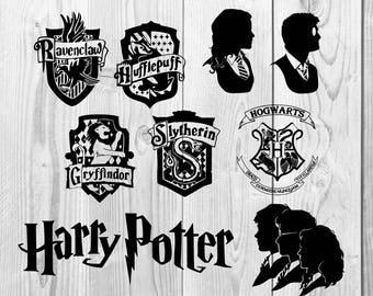 Harry Potter SVG, DXF cutting file, Printable, T-shirt Design, Scrapbooking Clipart
