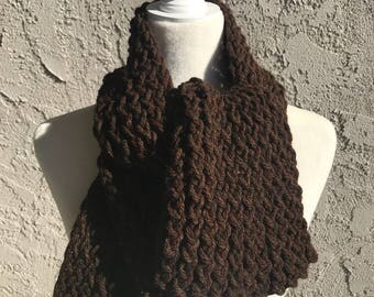 Handmade Knitted Straight Scarf - Item #2505