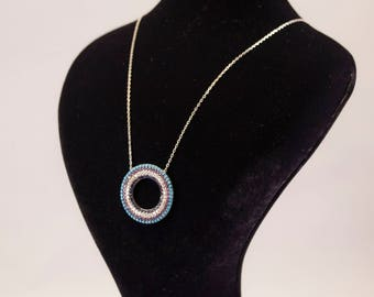 sterling silver necklace, handmade jewelry, 925 sterling silver,