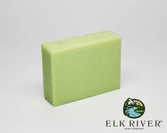 Frankincense and Lime handmade soap