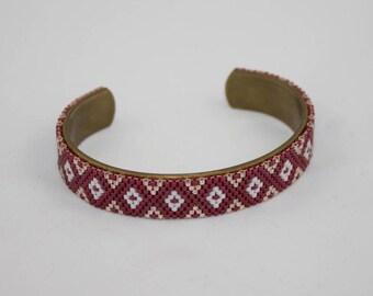 """Bracelet """"Little Maroon"""""""
