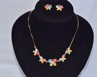Skyler's Butterfly Jewelry Set