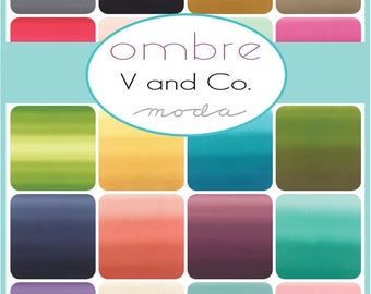 Ombre one yard cuts