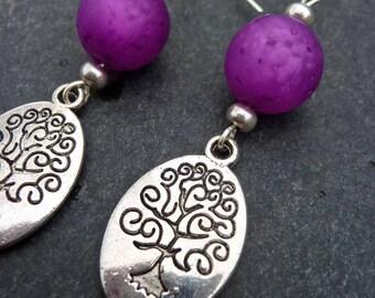 Earrings - Z' trees...