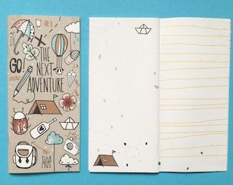 Travel diary the next adventure Eco for Midori