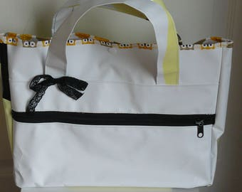 advertising cover tote bag