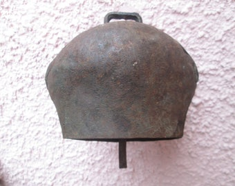 Аntique cowbell, Vintage bell, Big bell, Garden's decoration, Antique collection, Handmade cowbell, Cottage,Rustic home decor,Retro decor