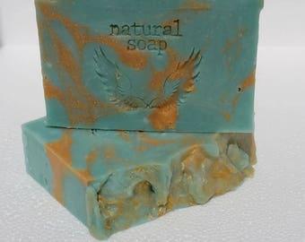 Sky Angel (Aqua De Gio) handmade soap