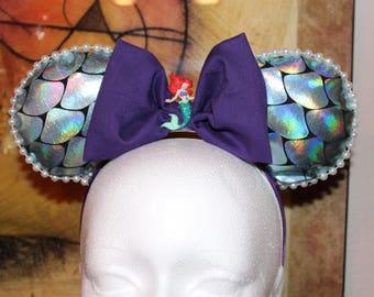 Disney inspired Little Mermaid ears