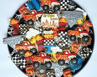 Monster Jam Cookies